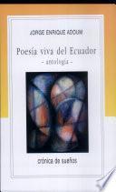 Poesía viva del Ecuador