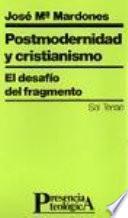 Postmodernidad y cristianismo