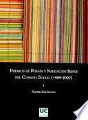 Premios de poesía y narración breve del Consejo Social, 1989-2007: I, @Narración breve