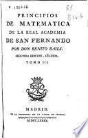 Principios de matemática de la Real Academia de San Fernando