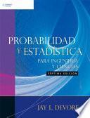 Probabilidad Y EstadÍstica Para IngenierÍas Y Ciencias