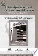 Proceedings fib Symposium in La Plata Argentina Vol1