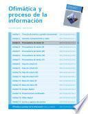 Procesadores de texto (I) (Ofimática y proceso de la información)