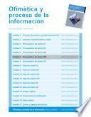 Procesadores de texto (IV) (Ofimática y proceso de la información)