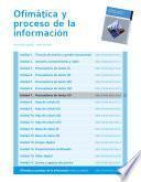 Procesadores de texto (V) (Ofimática y proceso de la información)