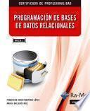 Programación de Bases de Datos Relacionales (MF0226_3)