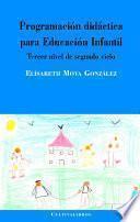 Programación didáctica para educación infantil