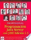 Programación Java Server con J2EE Edición 1.3