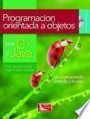 Programación Orientada a Objetos C++ y Java