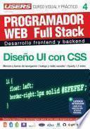 PROGRAMACION WEB Full Stack 4 - Diseño UI con CSS