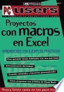 Proyectos con Macros en Excel en Espanol