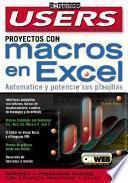 Proyectos con Macros en Excel