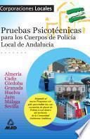 Psicotecnico de Policias Locales de Andalucia Ebook
