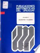 Publicaciones matemáticas del Uruguay