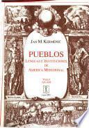 Pueblos, lenguas e instituciones de América meridional: Aa-Am