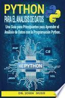 Python Para el Análisis de Datos
