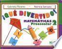 Qué dívertido!: Matemáticas preescolar 2