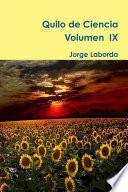 Quilo de Ciencia, Vol IX (2016)