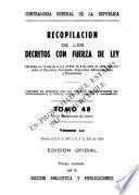 Recopilación de leyes por orden numérico