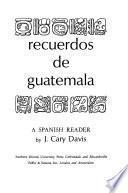 Recuerdos de Guatemala