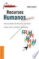Recursos humanos champions