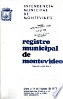Registro municipal
