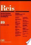 REIS - Enero/Marzo 2000
