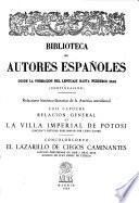Relación general de la villa imperial de Potosí