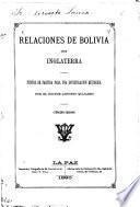 Relaciones de Bolivia con Inglaterra