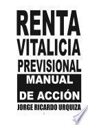 Renta Vitalica Previsional - Manual de Acción