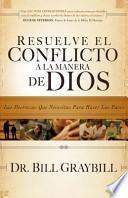 Resolve Conflict God's Way