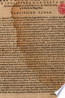 Respuesta del Principe de Inglaterra a la carta de su Santidad dada...à 20.de Abril de 1623 y à dos de su Magestad