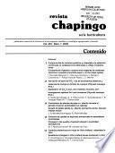 Revista Chapingo
