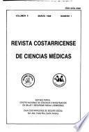 Revista costarricense de ciencias médicas