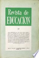 Revista de educacion nº 57
