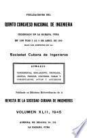 Revista de la Sociedad Cubana de Ingenieros