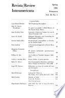 Revista/review Interamericana