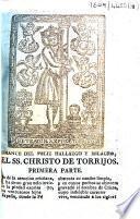 Romance del feliz hallazgo y milagros del Ss. Christo de Torrijos