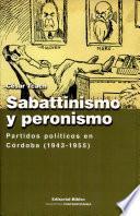 Sabattinismo y peronismo