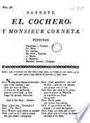 Saynete El cochero y monsieur Corneta