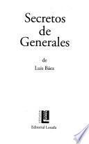 Secretos de generales