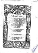 Segunda parte de la Coronica general de España y especialmente de Aragon, Cathaluña y Valencia