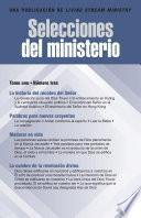 Selecciones del ministerio, t. 1, núm. 3