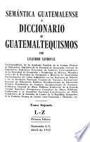 Semántica guatemalense