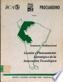 Seminiario Multinacional: Gestion y Planeamiento Estrategico de la Innovacion Tecnologica