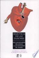 Semiótica de las pasiones