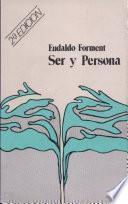 Ser y persona