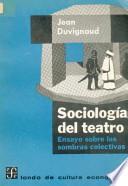 Sociología del teatro