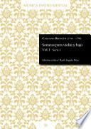 Sonatas para violín y bajo Vol. 1