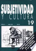 Subjetividad Y Cultura 19